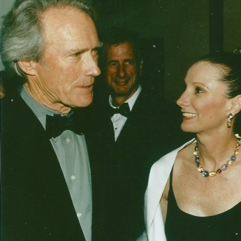 Roxanne Messina Captor with Clint Eastwood at the San Fransisco International Film Festival (SFIFF)