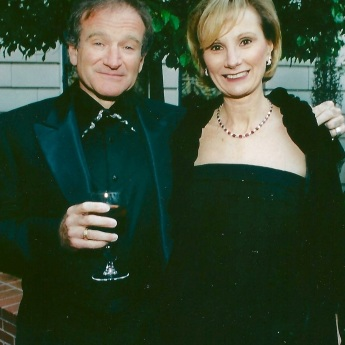 Roanne Messina Captor with Robin Williams